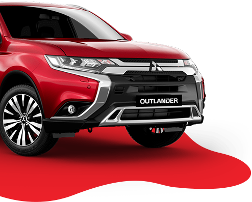 New Mitsubishi Outlander PHEV red